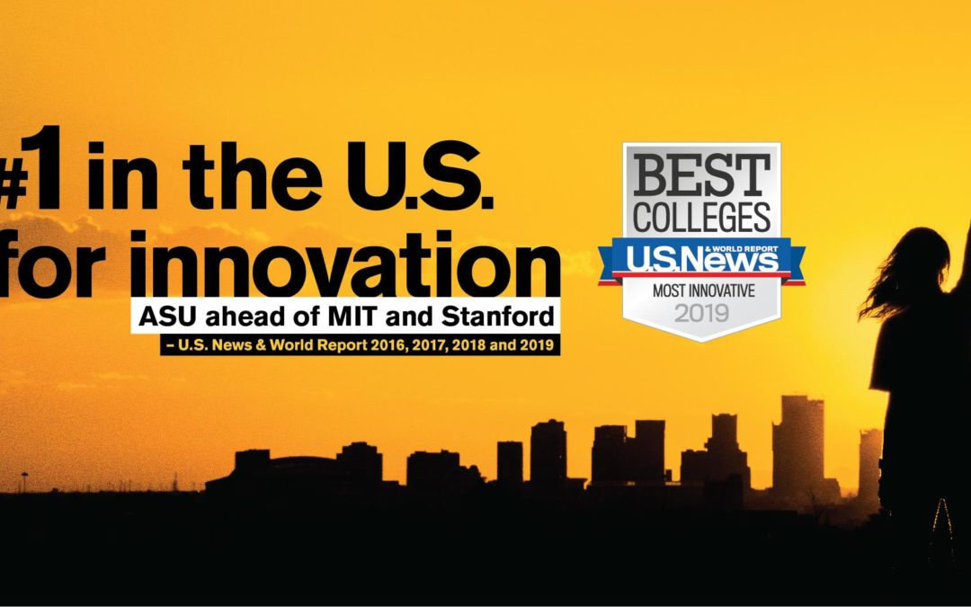ASU staff make ASU #1 in innovation. Join us.