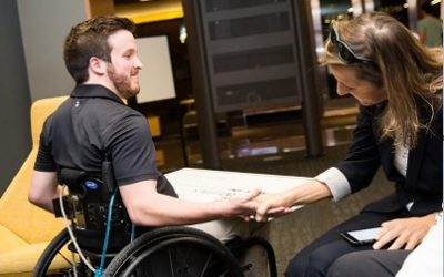 Engineering major wins $35,000 for inventing therapy device for patients with paralysis